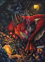 Within the dragon lair by JakubNadrowski