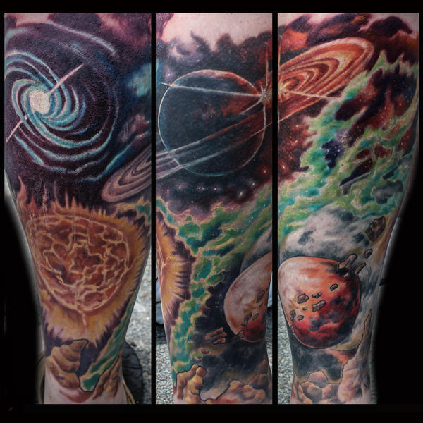 Space sleeve by JakubNadrowski