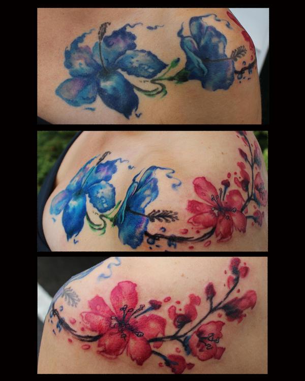 Watercolorflowersaddon8by10 by JakubNadrowski