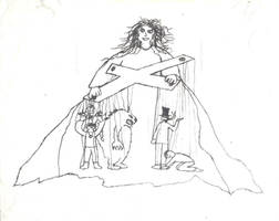 White Wolf Puppet Theatre by davidthegnome333