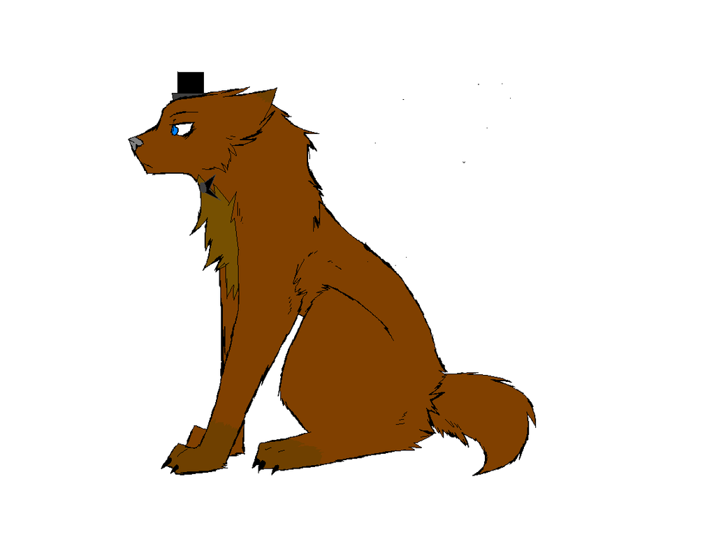 Freddy fazbear as a wolf by gizmounicorn on deviantart