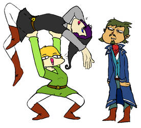 Legend of Zelda Draw The Squad