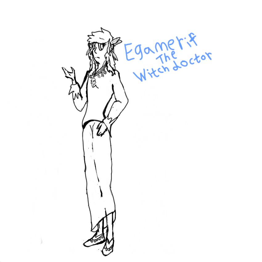 Egamerif by gizmounicorn