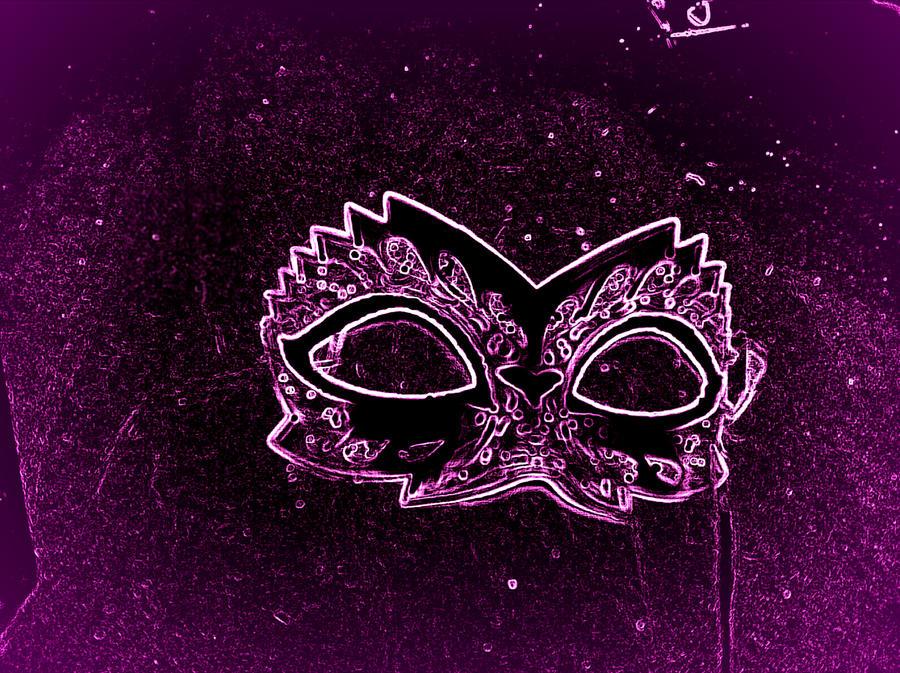 amythyst mask by GothicRavenMidnight