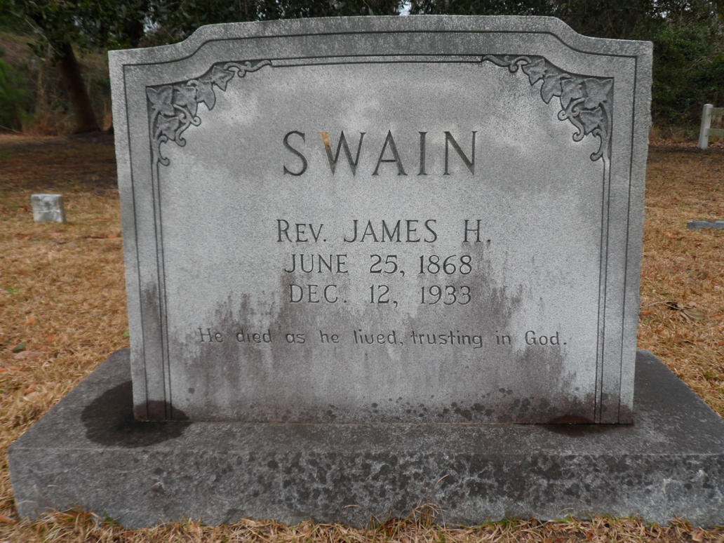 Civil war grave Swain by GothicRavenMidnight