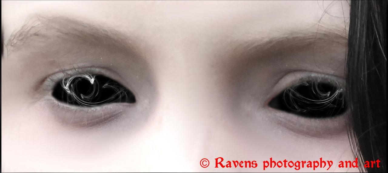 The Darkness in her eyes by GothicRavenMidnight