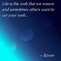 Webs by GothicRavenMidnight