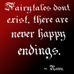 Fairytales dont exist