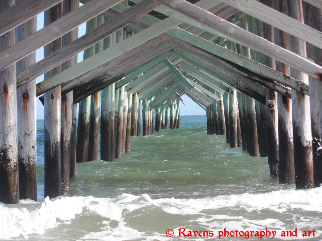 Under the pier by GothicRavenMidnight