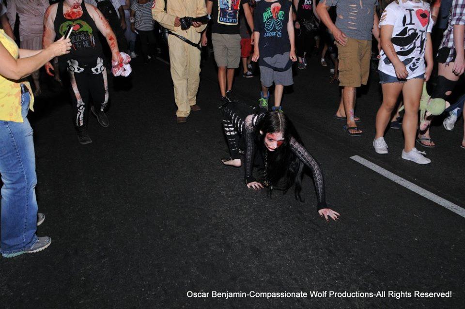 Sac Zombie Walk by GothicRavenMidnight