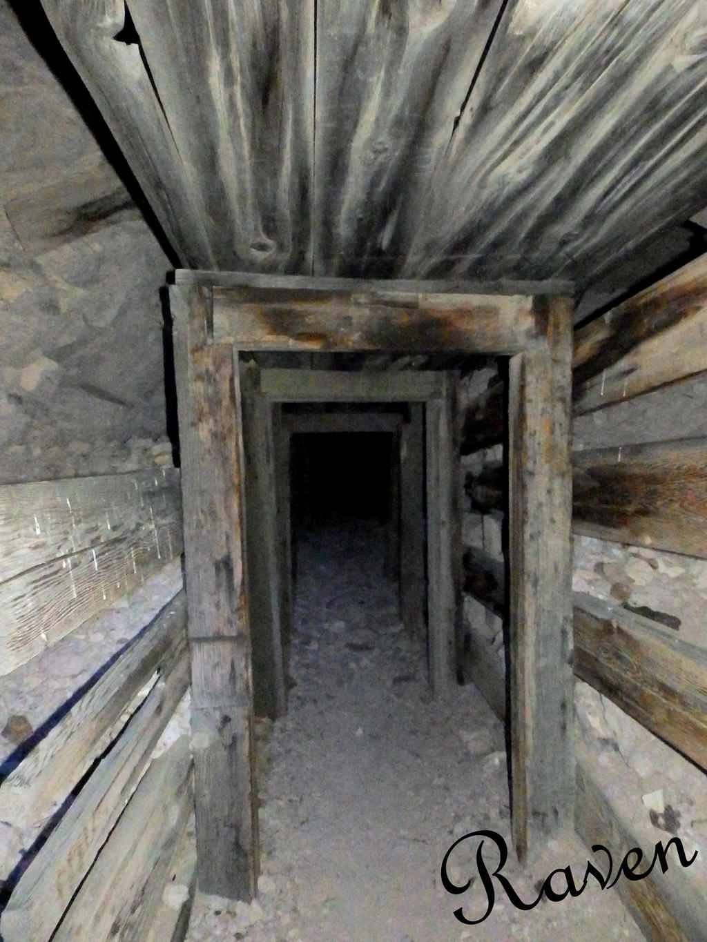 Ghost Town Nevada Mine by GothicRavenMidnight