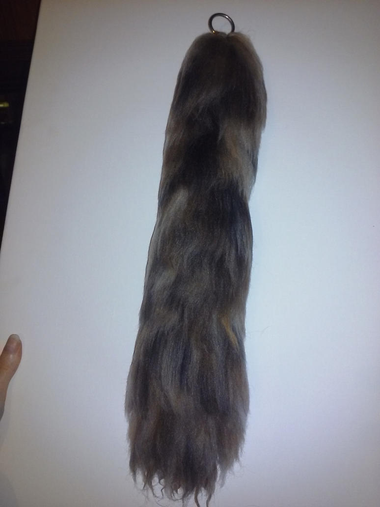 Natural mixed color tail, non heat treated by GothicRavenMidnight