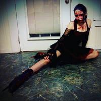 OC broken ballerina by GothicRavenMidnight