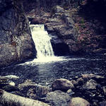 Beaver Brook Waterfall by GothicRavenMidnight