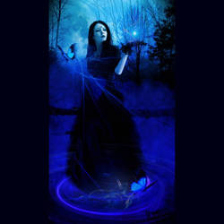 Magick Of The Moon by GothicRavenMidnight