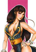 Chun Li (Street Fighter) by noelchianart76