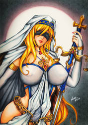 Sword Maiden by noelchianart76