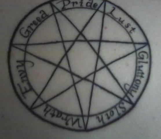 My Tattoo - shoulder tattoo