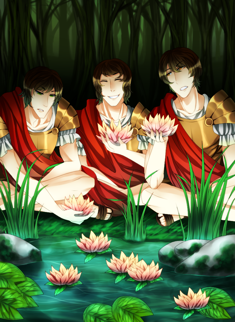 Lotus Flowers By Odysseus101 On Deviantart