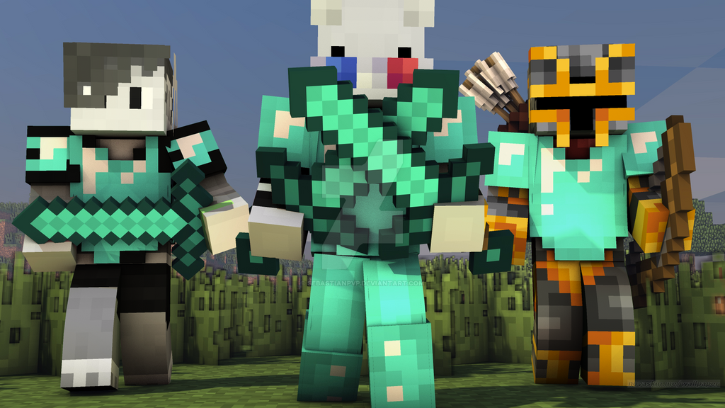 novaskin minecraft wallpaper by sebastianpvp on deviantart