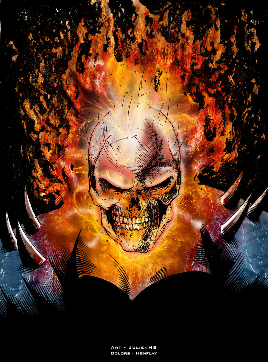 Ghost Rider by henflay...