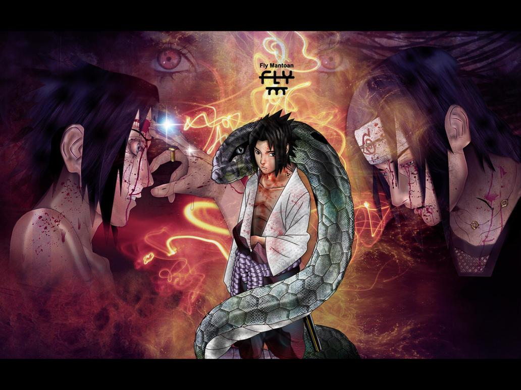 Sasuke by henflay