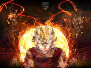 Goku Going Super - COLOR