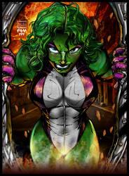 She Hulk by henflay