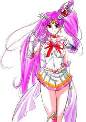 Adult Super Sailor ChibiMoon by Gabri--L