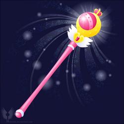 VECTOR MOON - manga Cutie Moon Rod by Hybryda