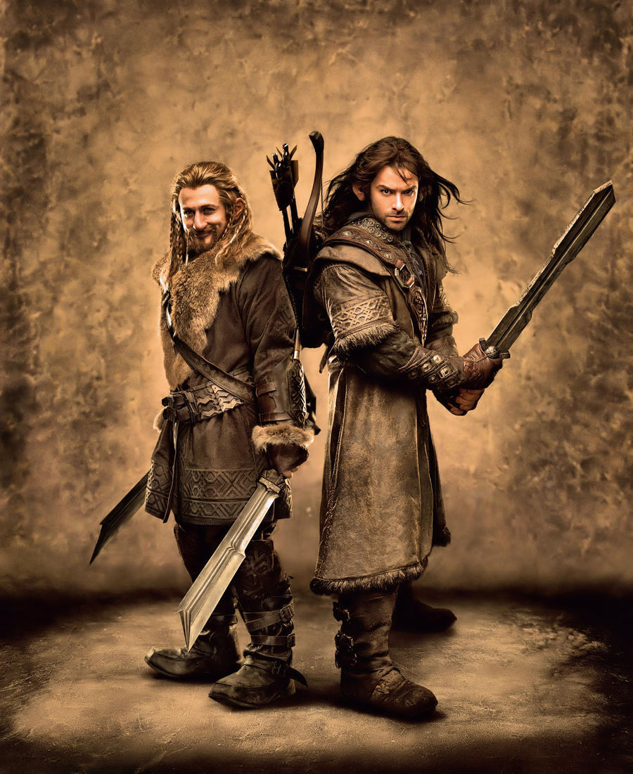 Kili and Fili 1 by OneofakindKnight