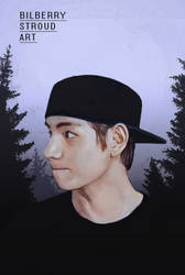 Kim Taehyung by BilberryStroudArt