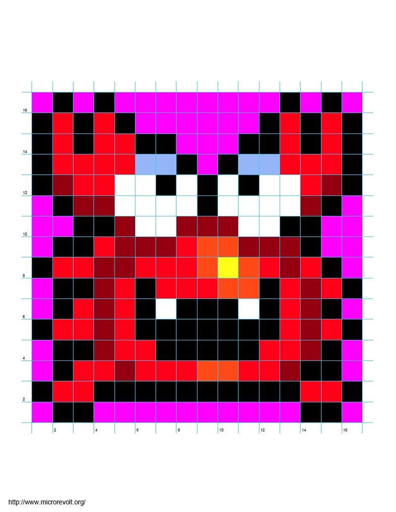 Pixel crab wonder boy by giraffesonparades on deviantart