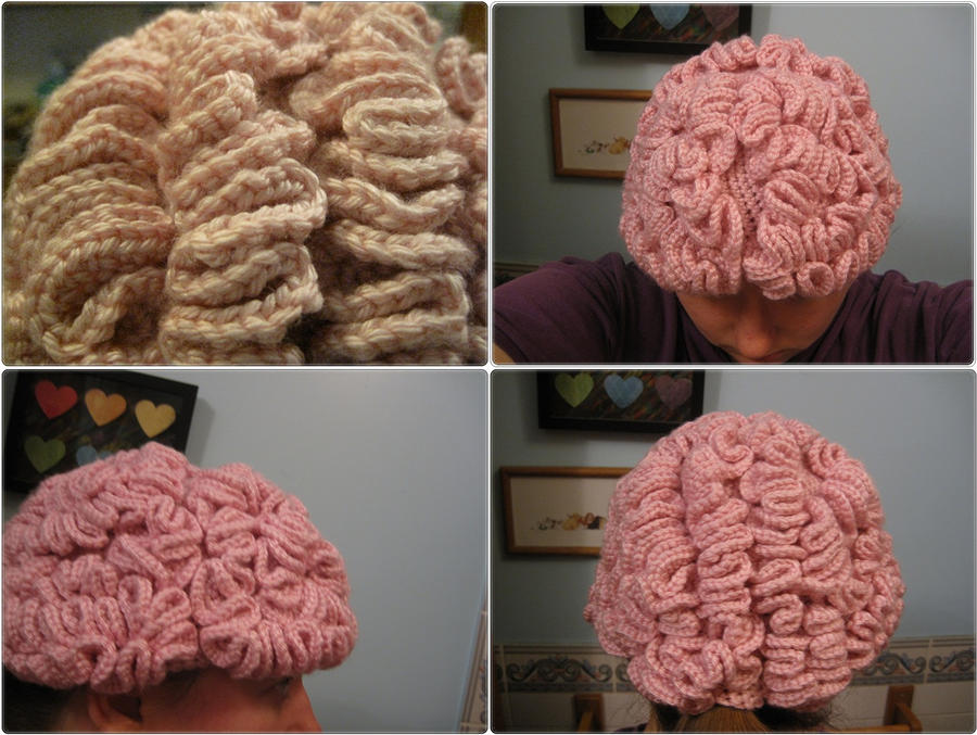 Shop photo of Brain hat by giraffesonparades