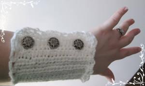 Steampunk Lace Wristers
