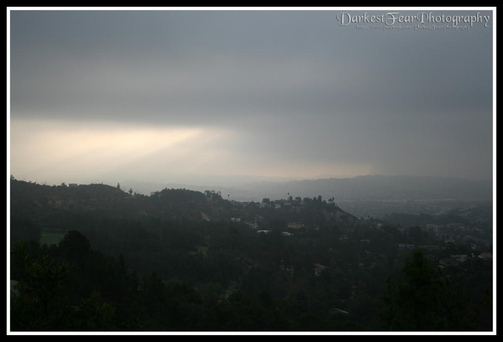 Griffith Park III by DarkestFear