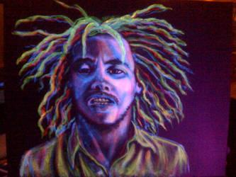 Bob Marley by loveglow