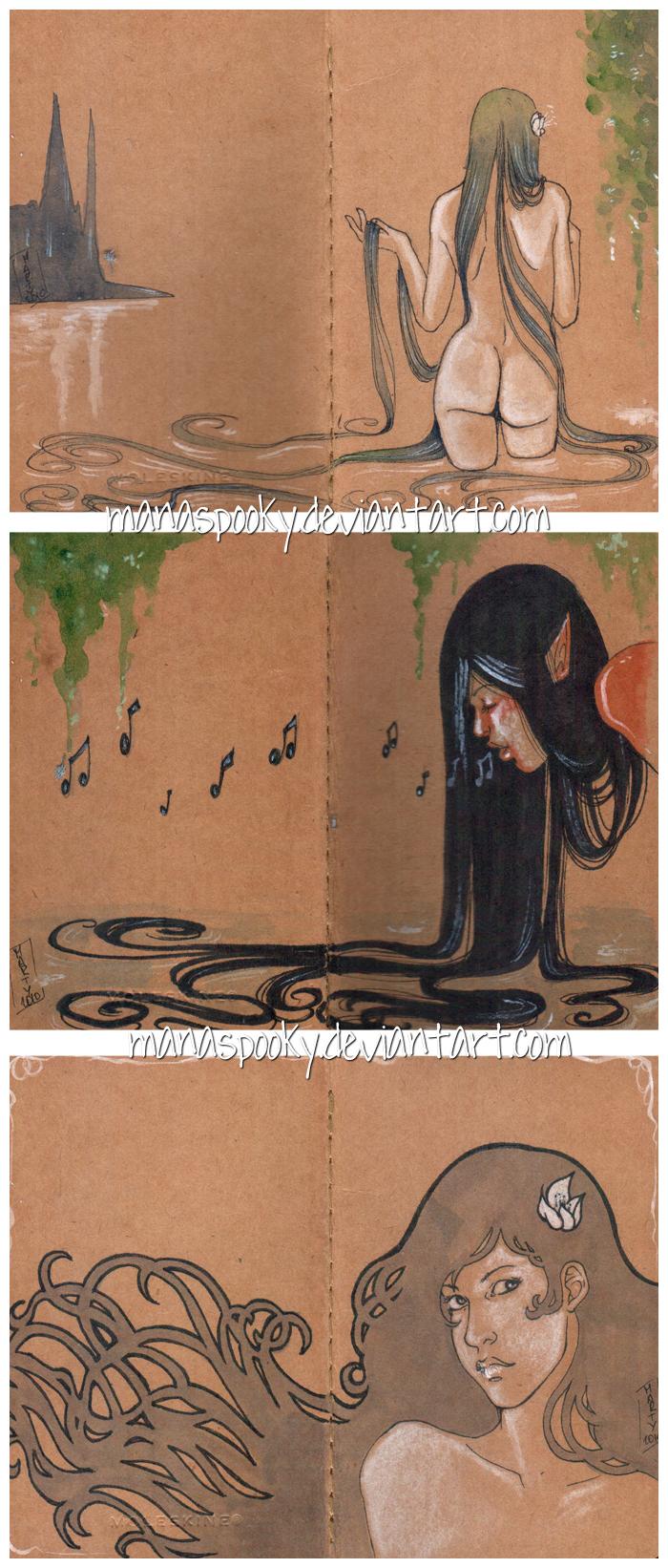 Custom Moleskine journals pt.2 by Martina-G