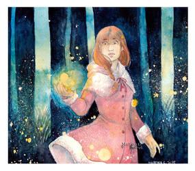 .Fireflies. by Martina-G