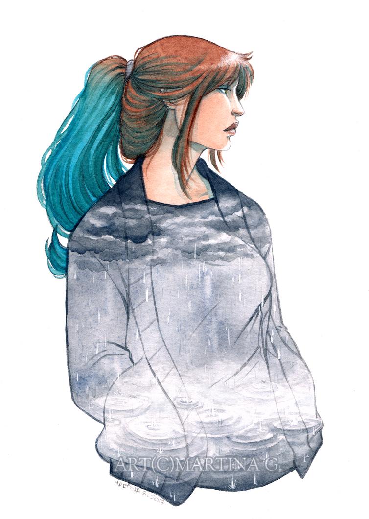 .A certain kind of sadness. by Martina-G