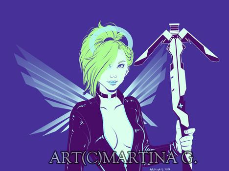 .Commission: cyberpunkmercy.