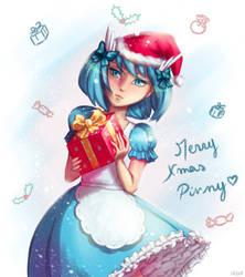 Merry Christmas from Megumi! (Secret Santa 2018) by ElissaKarminakria