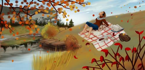 Fall by ElissaKarminakria