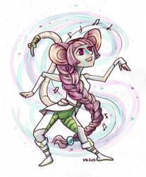 Ruh dancing by ElissaKarminakria