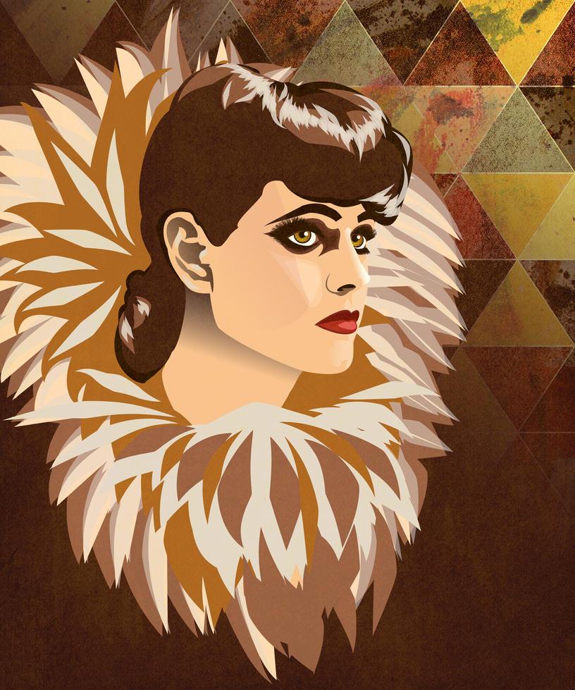 Rachael - Blade Runner by roro-did-onna