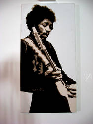 Jimmy Hendrix Guitar God by pulse-