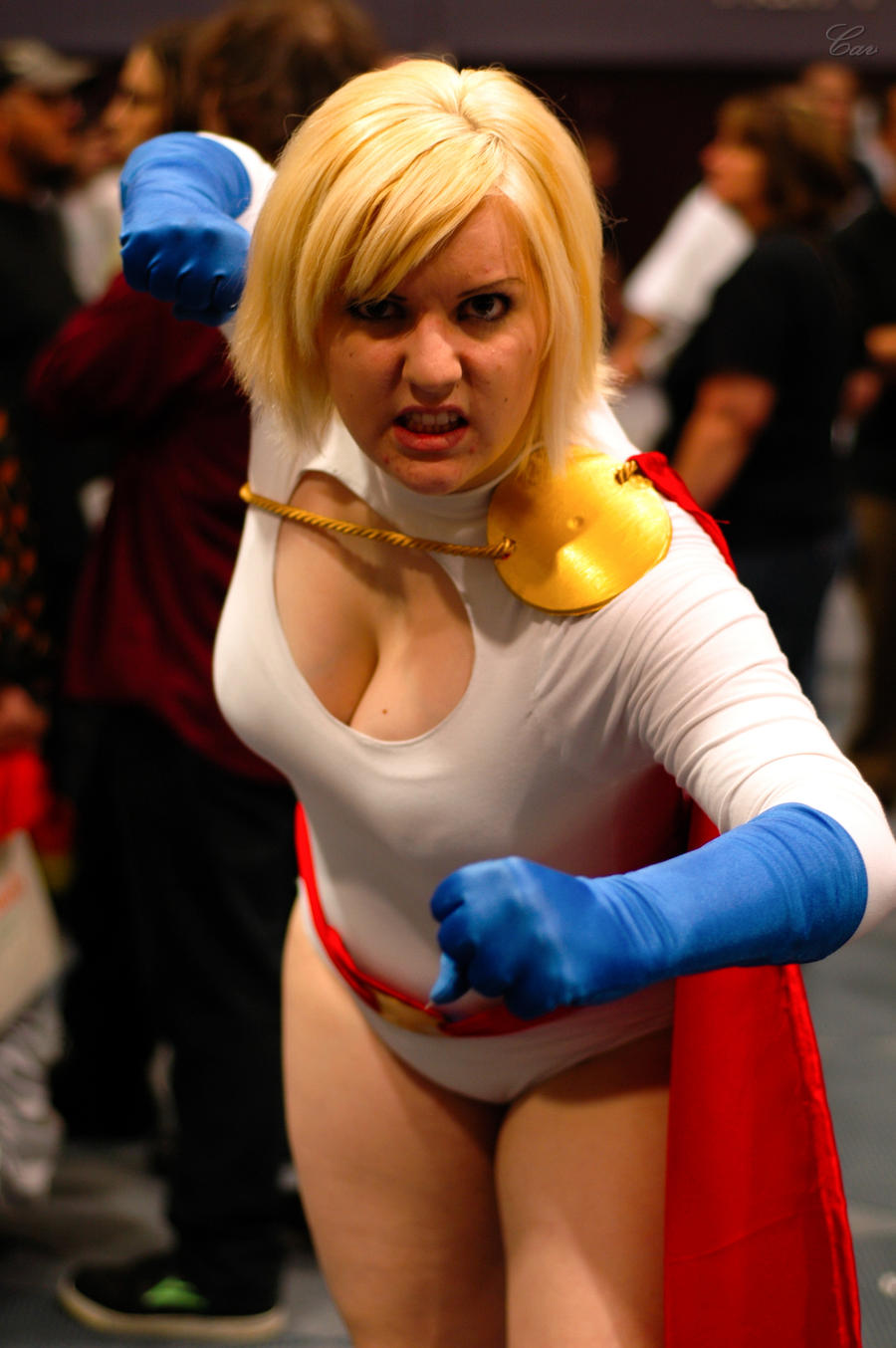 Power Girl by PinkCarbon