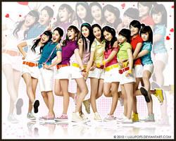 Girls Generation by Lullipops