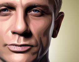 Skyfall - Daniel Craig by Lullipops