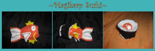 PKMN: Magikarp Sushi by ritzyfox